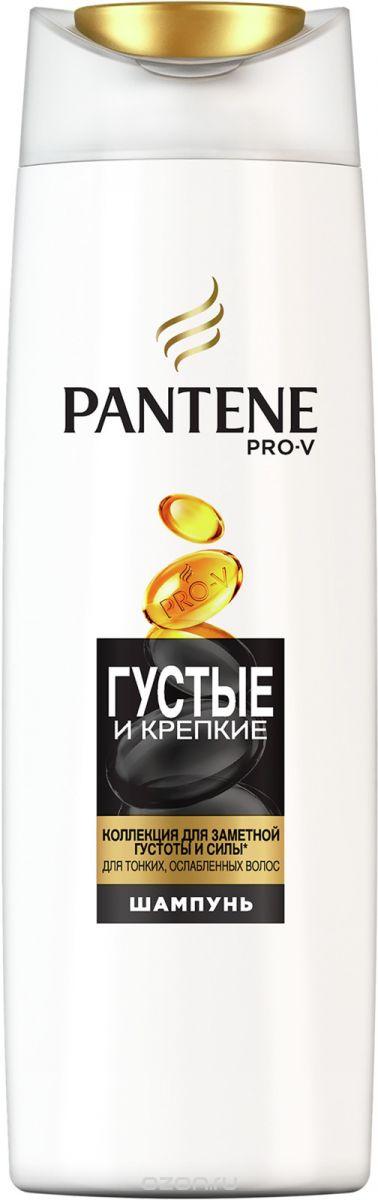 Шампунь для волос Pantene Pro-V Шампунь Густые и крепкие, 250 мл цена