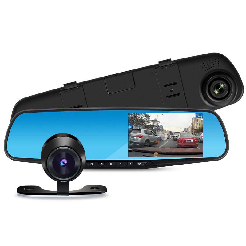 цена на Видеорегистратор-зеркало ZDK Mirror Z10-D, черный
