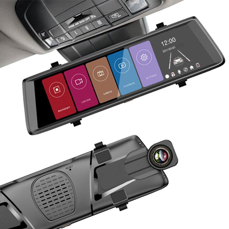 Видеорегистратор-зеркало ZDK Mirror Z30-D Touch, черныйAL-500Если вы ищете автомобильный регистратор с 2 -мя камерами и сенсорным монитором в зеркале, рассмотрите данную модель.Из характеристик Z30-D Touch отметим:две камеры (170° основная и 120° дополнительная)цветной сенсорный дисплей 10 дюймовподдержка карт памяти до 32 ГбДатчик удара (G - сенсор)видео Full HD (1920 на 1080 Пикселей)
