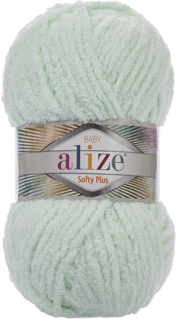 Пряжа Alize Softy Plus, 7725813, 464 мята, 100 г, 120 м, 5 шт 5 newstar 100