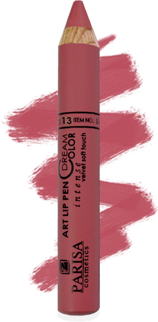 Помада-карандаш для губ Parisa L-12, № 13 Пыльная роза, 2,49 г