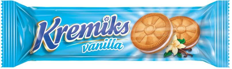 Печенье Hamle Кремикс с кремом со вкусом ванили, 60 г selga печенье со вкусом сгущенного молока 180 г