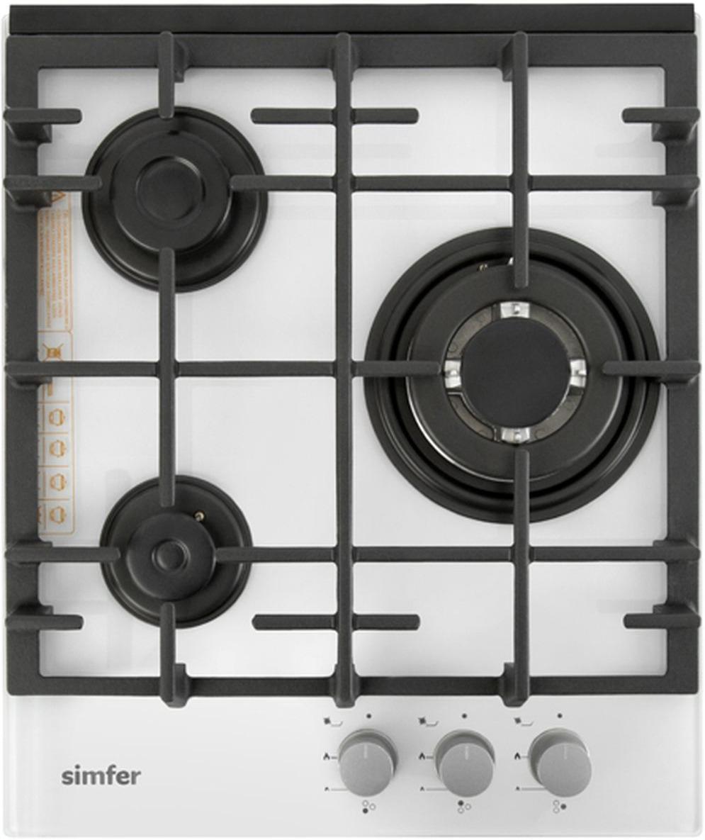 Варочная панель Simfer H45L35W511, газовая цена