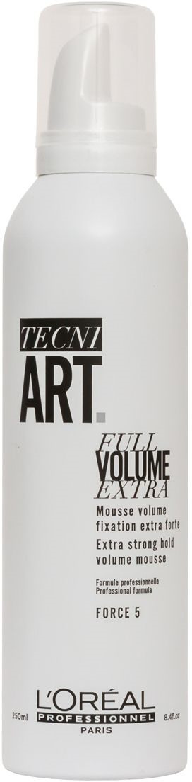 L'Oreal Professionnel Tecni. art Volume Мусс для объема нормальных и непослушных волос (фикс.5) 250 мл волюм лифт мусс для прикорневого объема 250мл loreal professionnel techi art