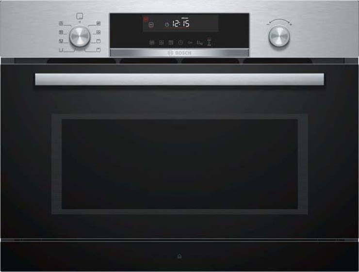 лучшая цена Встраиваемая микроволновая печь с функцией пара Bosch COA565GS0