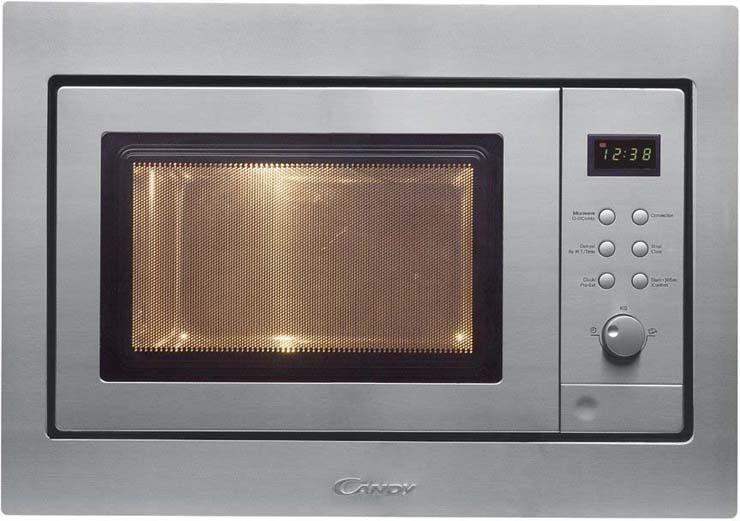 Встраиваемая микроволновая печь Candy MIC 256 EX микроволновая печь bbk 23mws 927m w 900 вт белый