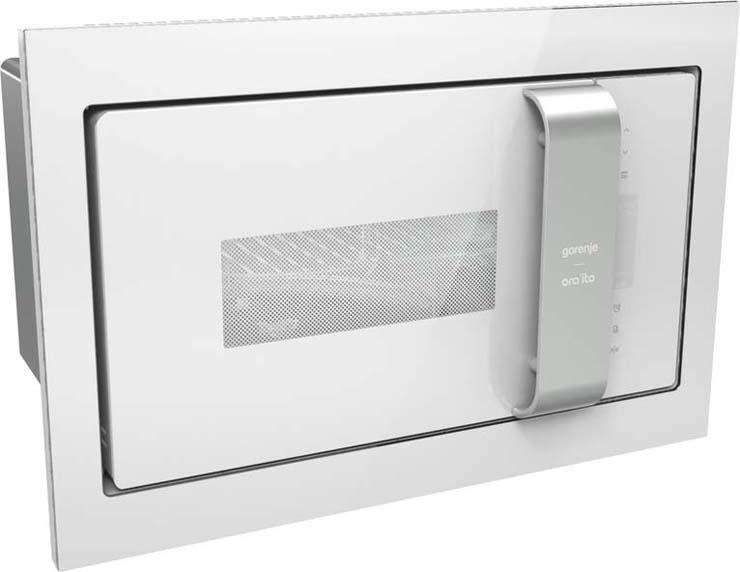 Встраиваемая микроволновая печь Gorenje BM235ORAW микроволновая печь bbk 23mws 927m w 900 вт белый