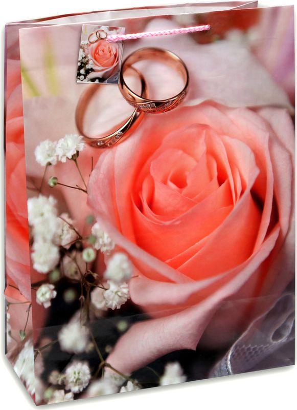 Подарочная упаковка Miland Свадебный цветок, 26 х 33 14 см