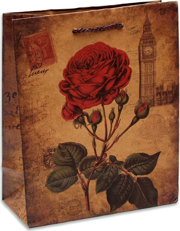 Подарочная упаковка Miland Письмо из Англии, 18 х 23 х 10 см подарочная упаковка miland лама на прогулке 18 х 23 х 10 см