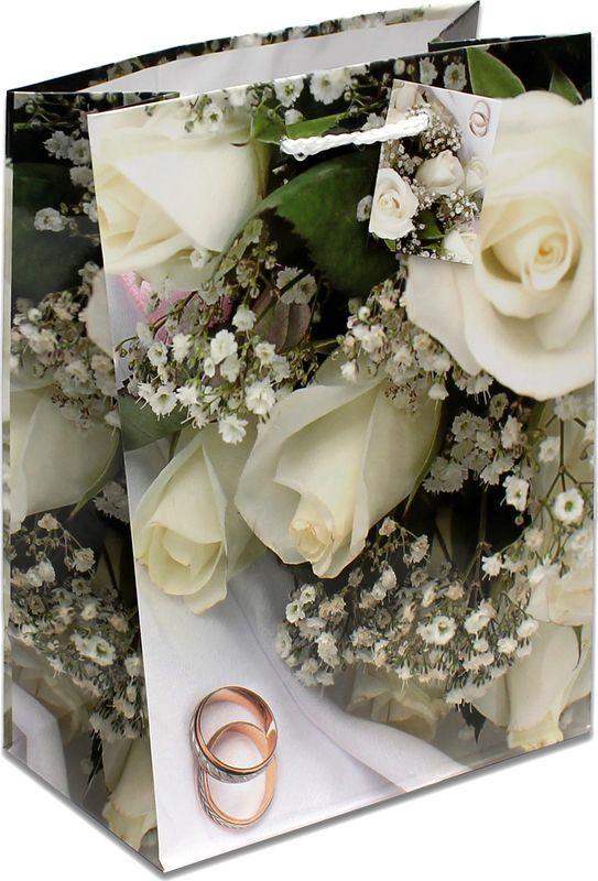 Подарочная упаковка Miland Свадебный букет , 18 х 23 10 см
