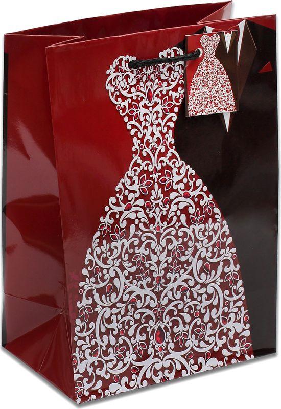 Подарочная упаковка Miland Смокинг и платье, 18 х 23 х 10 см подарочная упаковка miland лама на прогулке 18 х 23 х 10 см