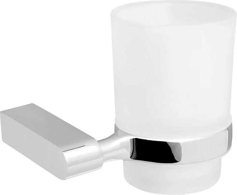 Стакан для ванной комнаты Verran Cleo, 251-26, серебристый