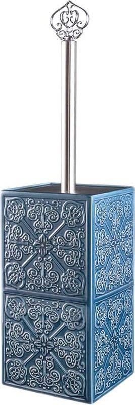 Ершик для унитаза Wess Setar, G79-91, синий ершик для туалета wess elegance с подставкой цвет белый g79 40