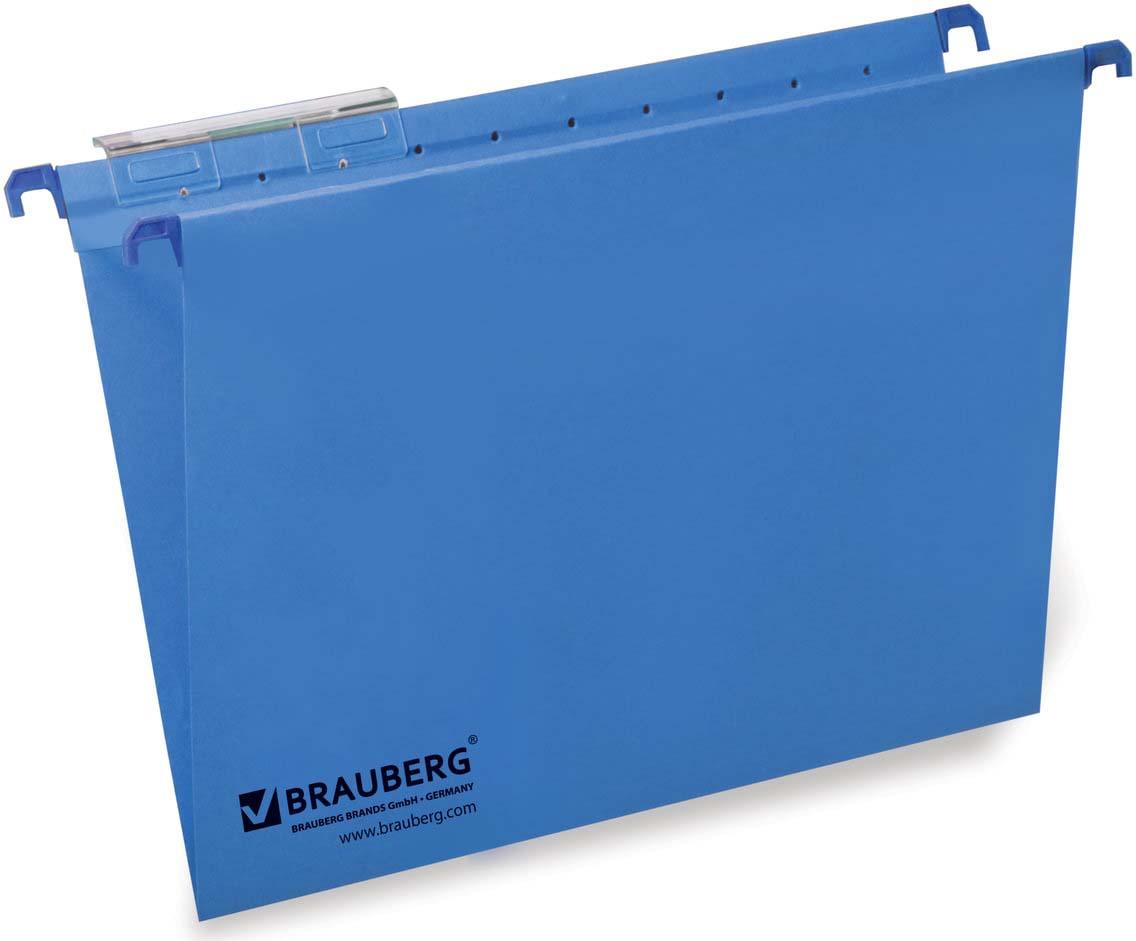 Комплект подвесных папок Brauberg, А4, 231789, синий, 80 листов, 10 шт