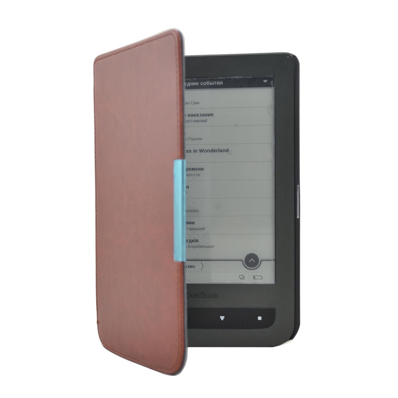 Чехол для электронной книги GoodChoice Pocketbook 614,615,624,625,626,641, коричневый