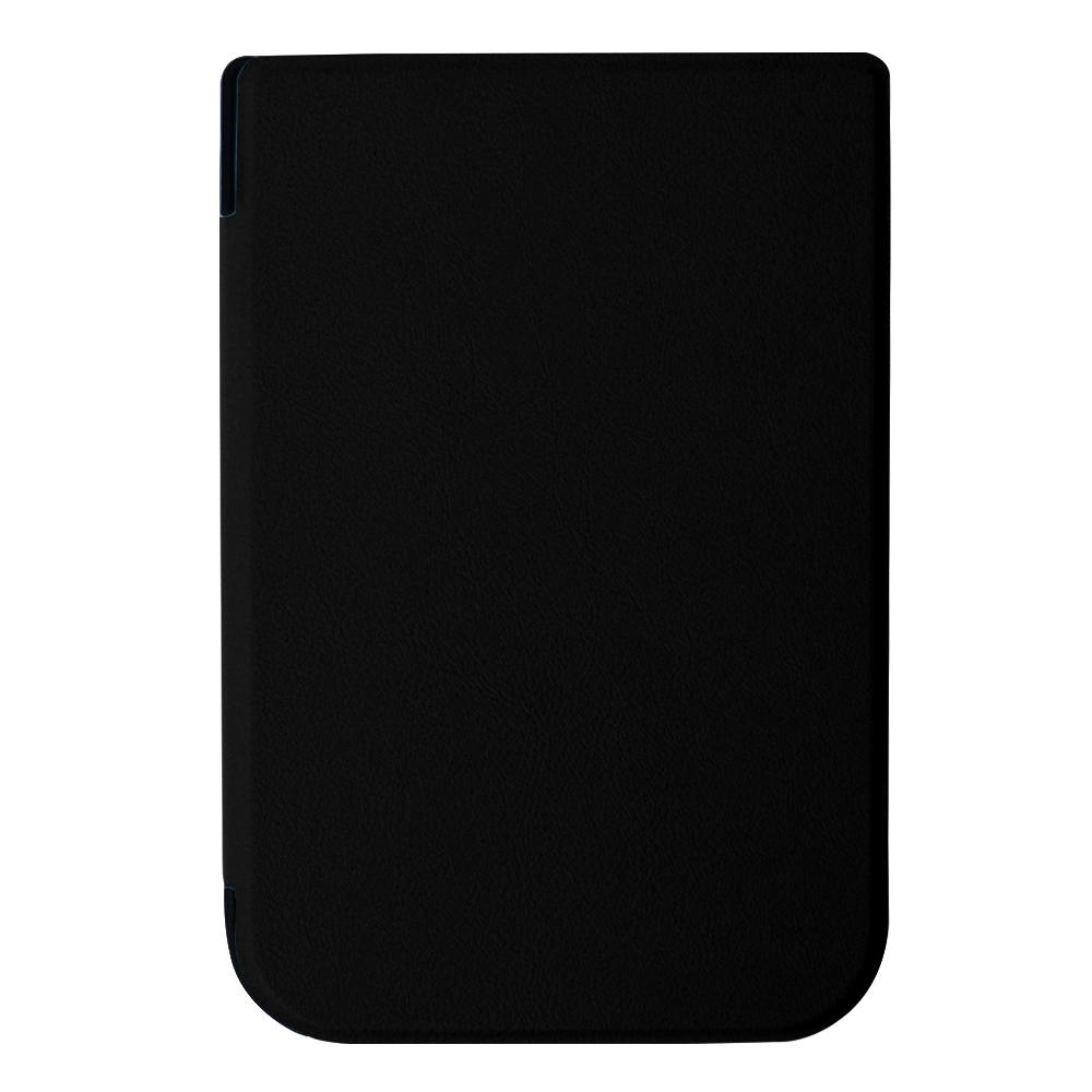чехол-обложка goodchoice slim для pocketbook 631, коричневый