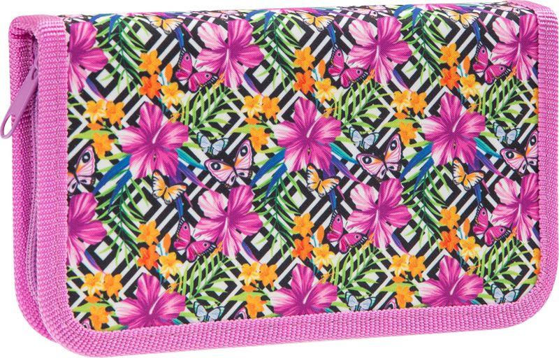 Пенал ArtSpace Яркие цветы, ПК3-20_23076, мультиколор