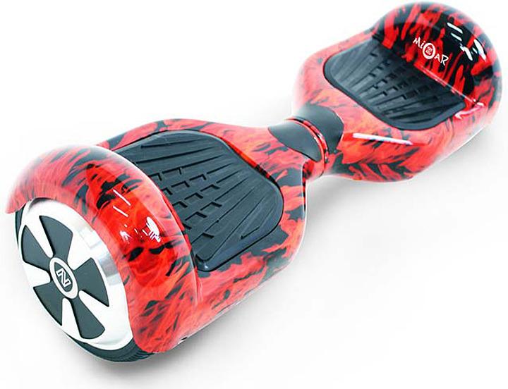 Гироскутер Mizar 6, MZ6FM, красный, черный гироскутер 6 дюймов