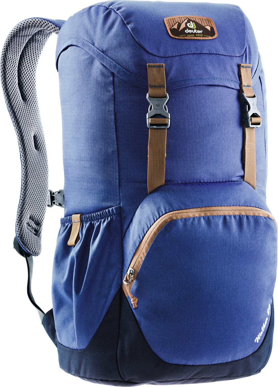 Рюкзак Deuter Walker, 3810617_3130, синий, 48 х 28 х 21 см цена и фото