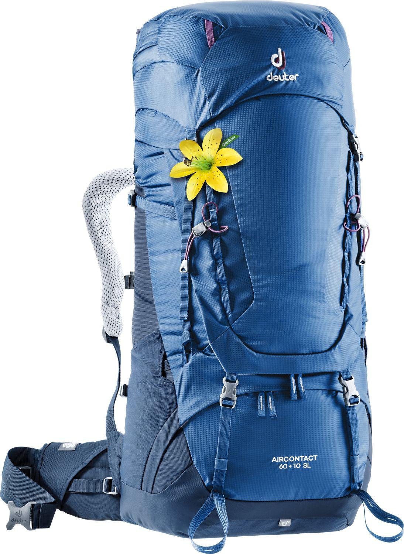 Рюкзак Deuter Aircontact SL, 3320419_3399, синий, 84 х 32 х 26 см цена и фото