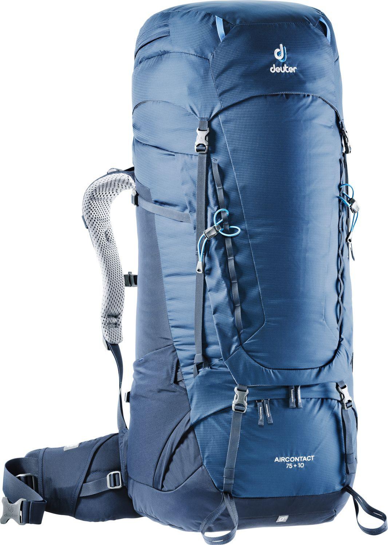 цена на Рюкзак Deuter Aircontact, 3320719_3365, синий, 90 х 33 х 30 см