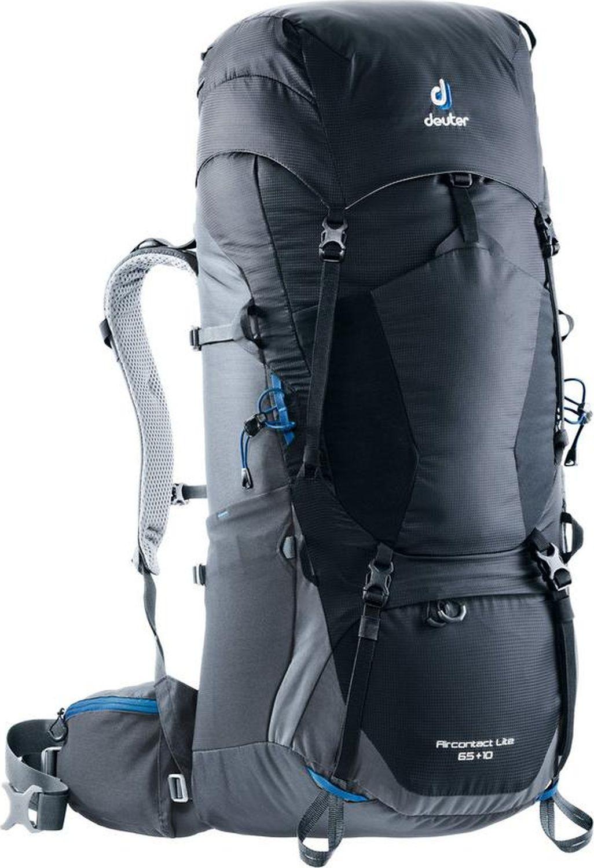 Рюкзак Deuter Aircontact Lite, 4340318_7403, черный, 84 х 32 х 26 см цена и фото