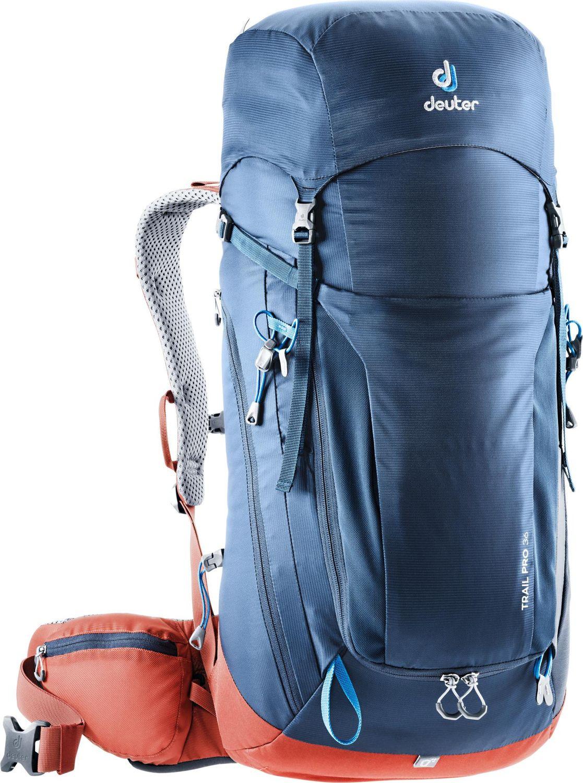 Рюкзак Deuter Trail Pro, 3441319_3522, синий, 66 х 32 х 22 см