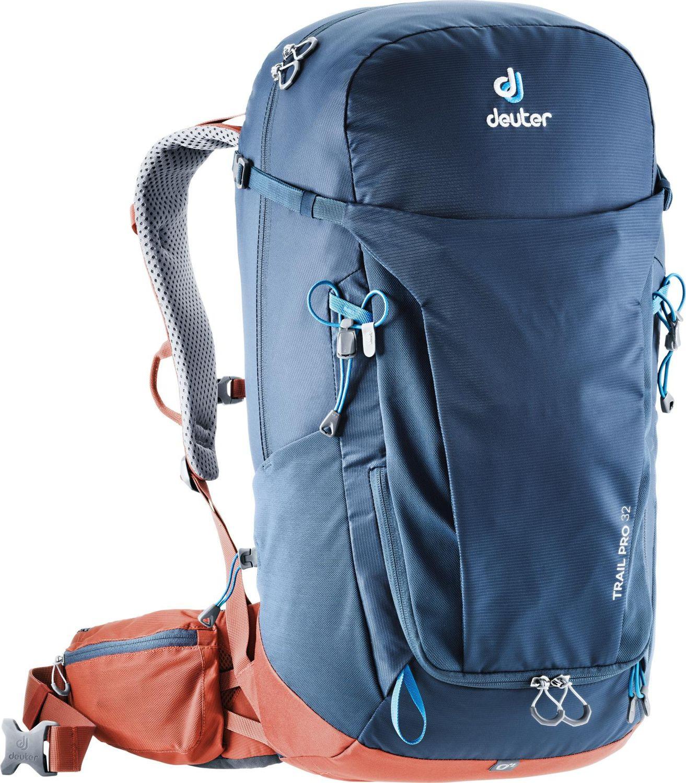 Рюкзак Deuter Trail Pro, 3441119_3522, синий, 60 х 32 х 22 см