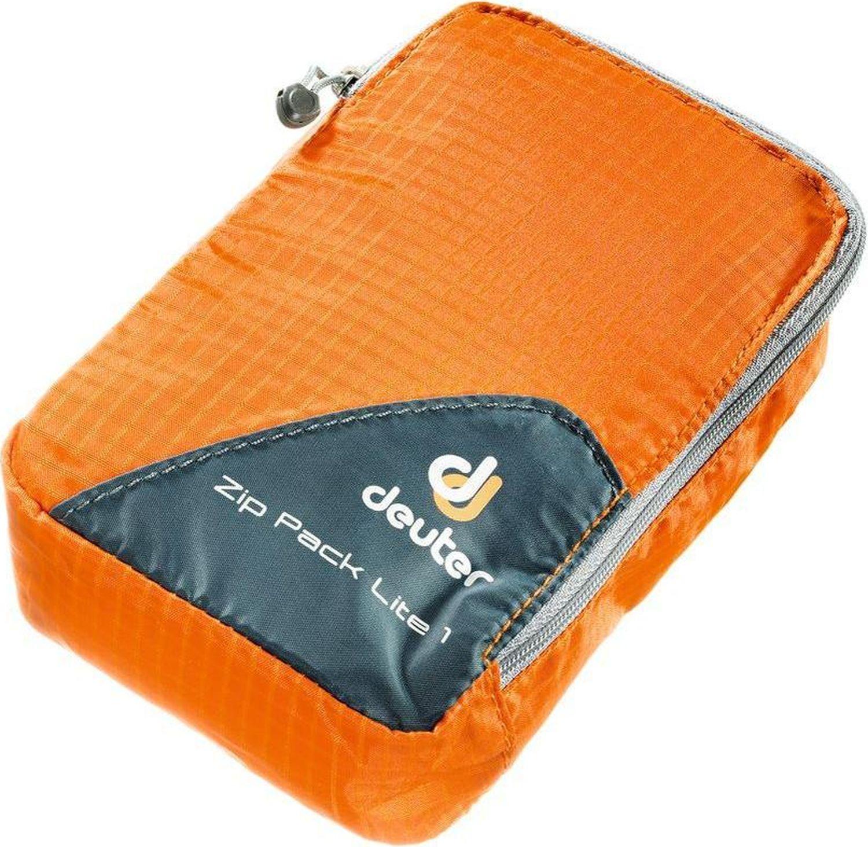 Гермомешок Deuter Zip Pack Lite 1, 3940016_9010, оранжевый, 10 х 10 х 2 см