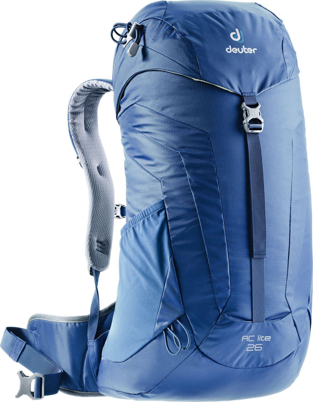 Рюкзак Deuter AC Lite, 3420316_3020, серый, 58 х 32 х 20 см3420316_3020Серия рюкзаков AC Lite для любителей однодневных походов - низкий вес, хорошая вентиляция, равномерное распределение веса, эргономичные лямки с мягкими краями и множество отделений делают путешествие комфортным - рюкзак почти не ощущается на плечах.; Особенности и технологии: Легкий вес Каркас из пружинной стали держит форму и обеспечивает удобную посадку Нагрудный ремень с бесступенчатой регулировкой Совместимость с питьевыми системами Петли для телескопических палок Просторный карман верхнего клапана, внутренний карман для ценных вещей Удобная застежка верхнего клапана одним замком-баклей Отделение для влажной одежды позволяет хранить мокрую и грязную одежду отдельно Эргономичные, компактные крылья набедренного пояса помогают легко переносить тяжести Съемный чехол от дождя