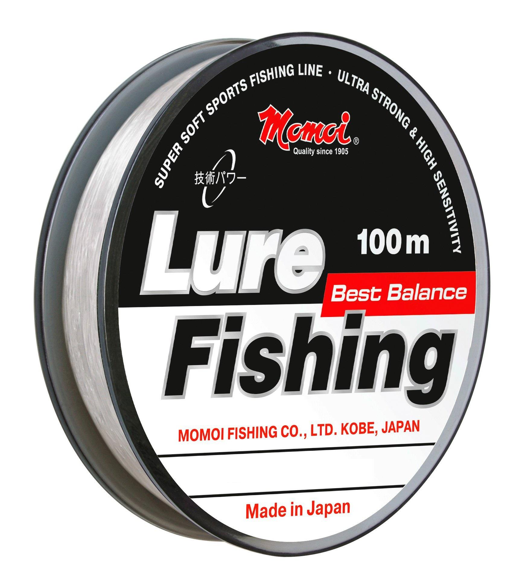 Леска для рыбалки MOMOI Lure Fishin, прозрачный