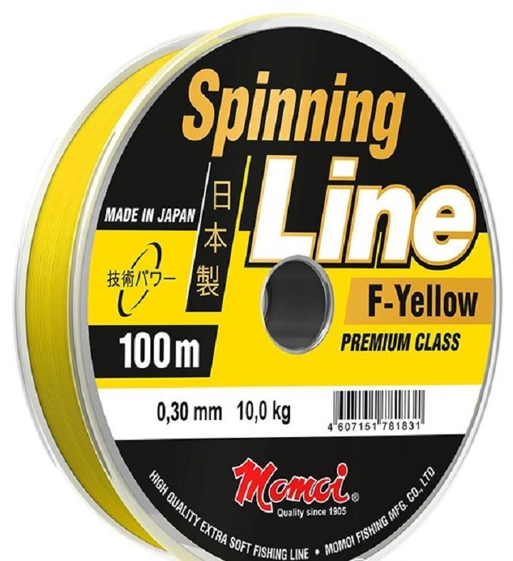Леска для рыбалки MOMOI Spinning Line, желтыйУТ000030170ЛЕСКА SPINNING LINE максимальная эффективность спиннинговой ловли любого вида. Произведена компанией MOMOI FISHING, Япония - мировым лидером в области спортивного рыболовства. Гарантия высокого качества материала, мягкости, эластичности, прочности. Практически отсутствует «эффект памяти» – леска не деформируется при лове и хранении. Отлично держит узел. Антиабразивное покрытие – высокая стойкость к истиранию. Устойчива к солнечному свету и соленой воде. Данные свойства делают леску универсальной, позволяя использовать в любых видах лова спиннингом, и увеличивают срок эксплуатации до нескольких сезонов.F-Yellow (желтый флюоресцентный) - для сумерек и ночной ловли Особенности: Высокая прочность Мягкость, эластичность Стойкость к истиранию Минимальный «эффект памяти» Стойкость к солнечному свету и морской воде