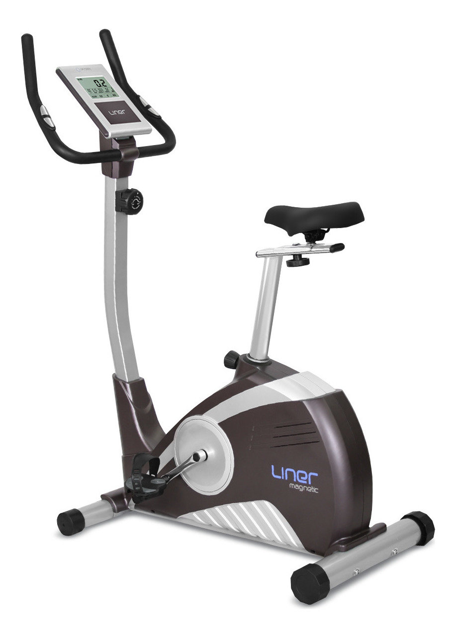Велотренажер Oxygen OX_LINER, серый металлик