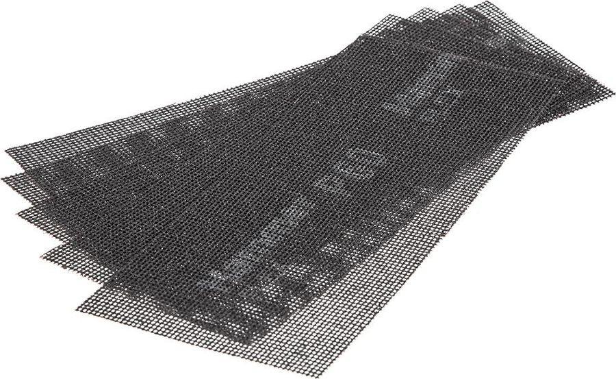цена на Сетка абразивная Hammer Flex 242-002, Р60, водостойкая, 115 х 280 мм, 5 шт