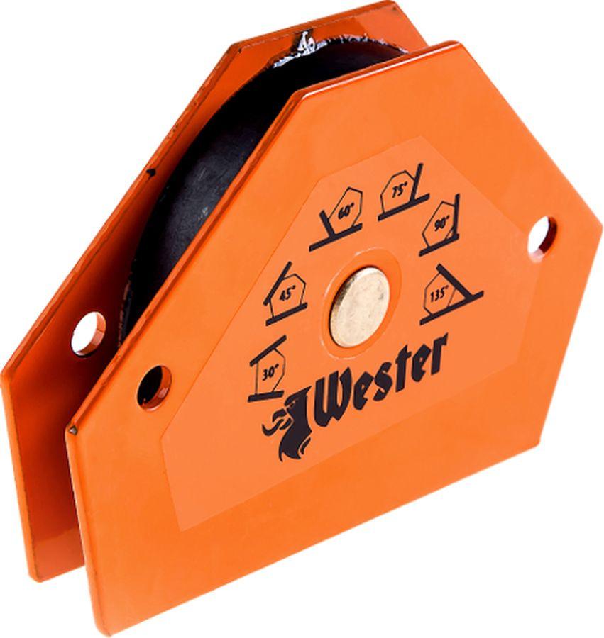 Уголок магнитный для сварки Wester WMCT25 829-005, углы 30°, 45°, 60°, 75°, 90°, 135°