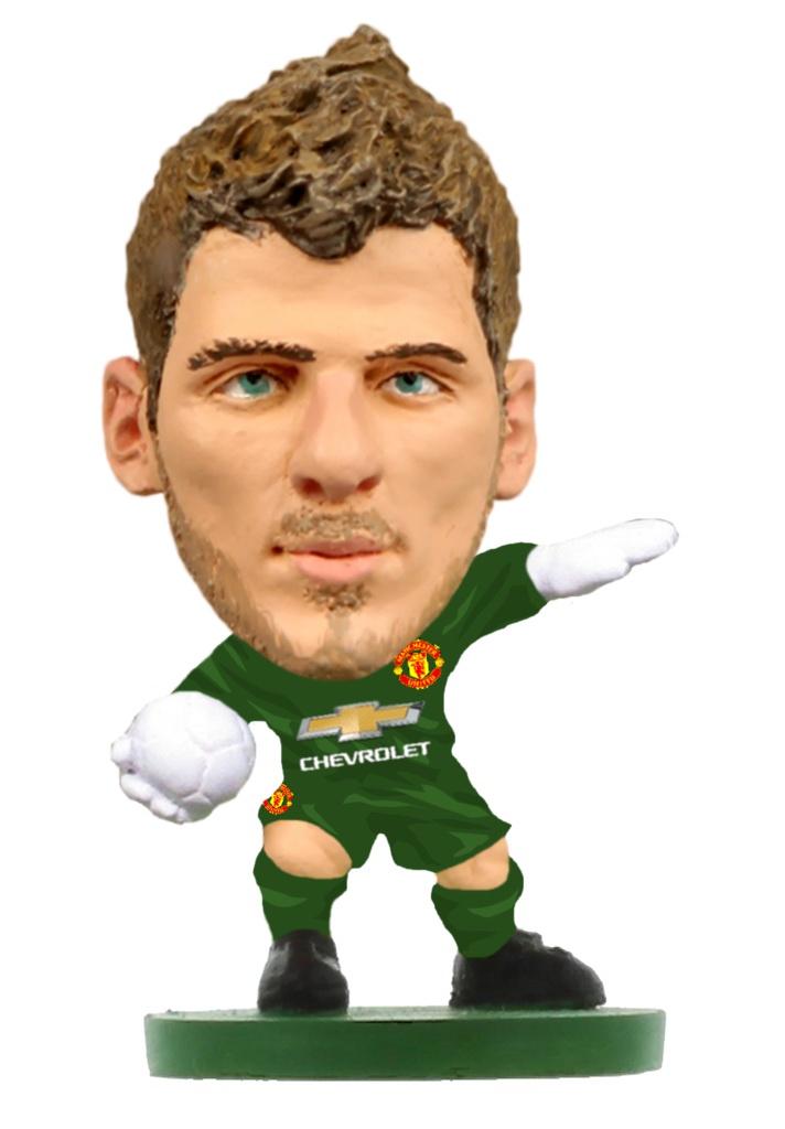 цена на Фигурка Soccerstarz футболиста ФК Манчестер Юнайтед Man Utd David De Gea Home V-2019, 406646