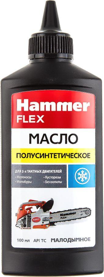 Масло полусинтетическое Hammer Flex 501-024, 2-тактное, 100 мл