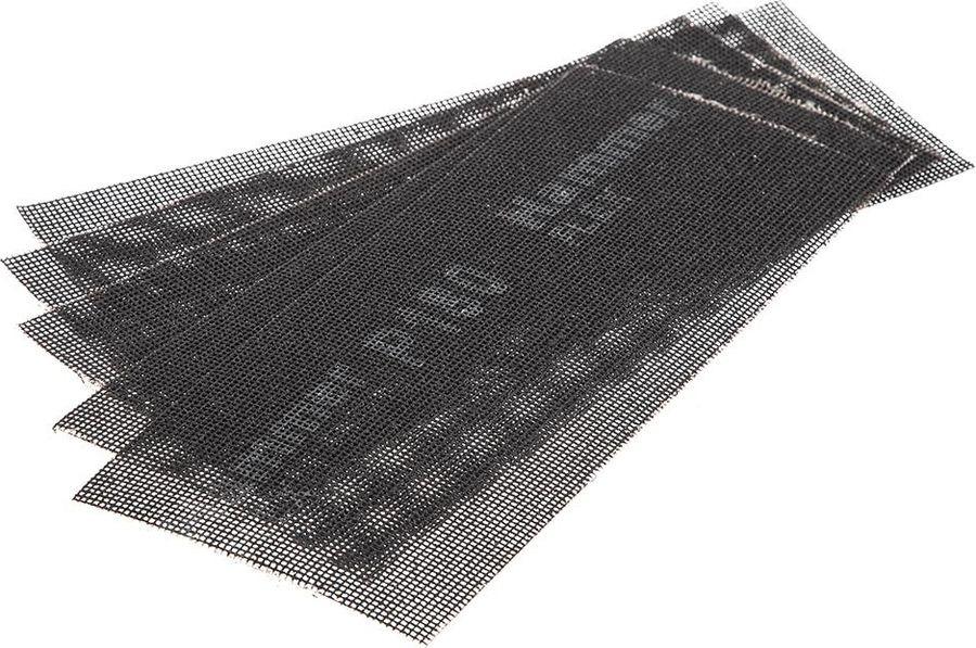 цена на Сетка абразивная Hammer Flex 242-008, Р180, водостойкая, 115 х 280 мм, 5 шт