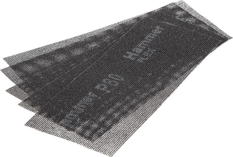 Сетка абразивная Hammer Flex 242-003, Р80, водостойкая, 115 х 280 мм, 5 шт hammer flex tsl170b