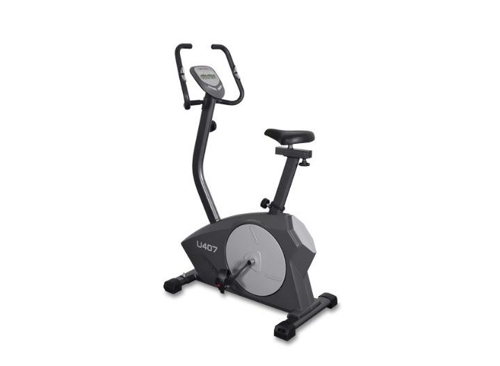 Велотренажер Carbon U407, черно-серый