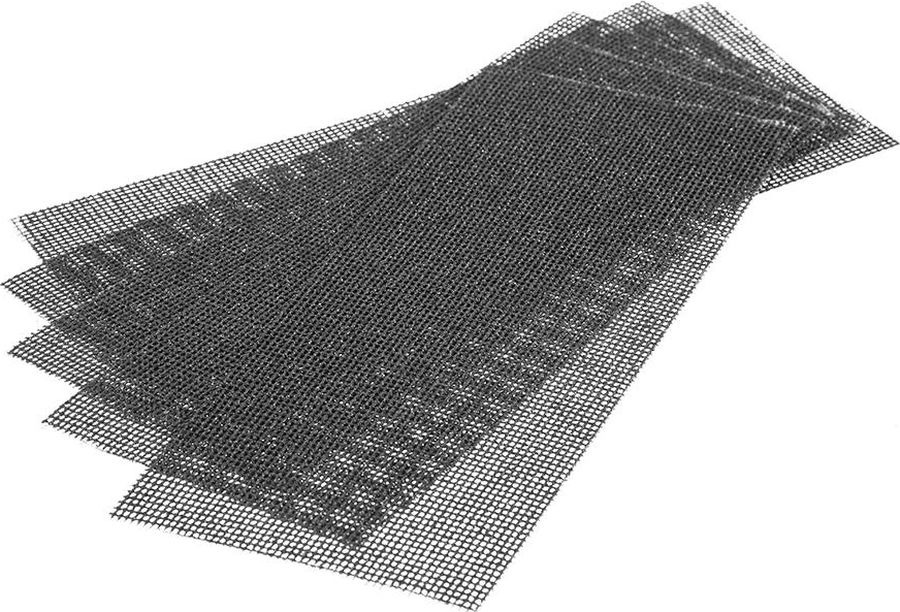цена на Сетка абразивная Hammer Flex 242-001, Р40, водостойкая, 115 х 280 мм, 5 шт