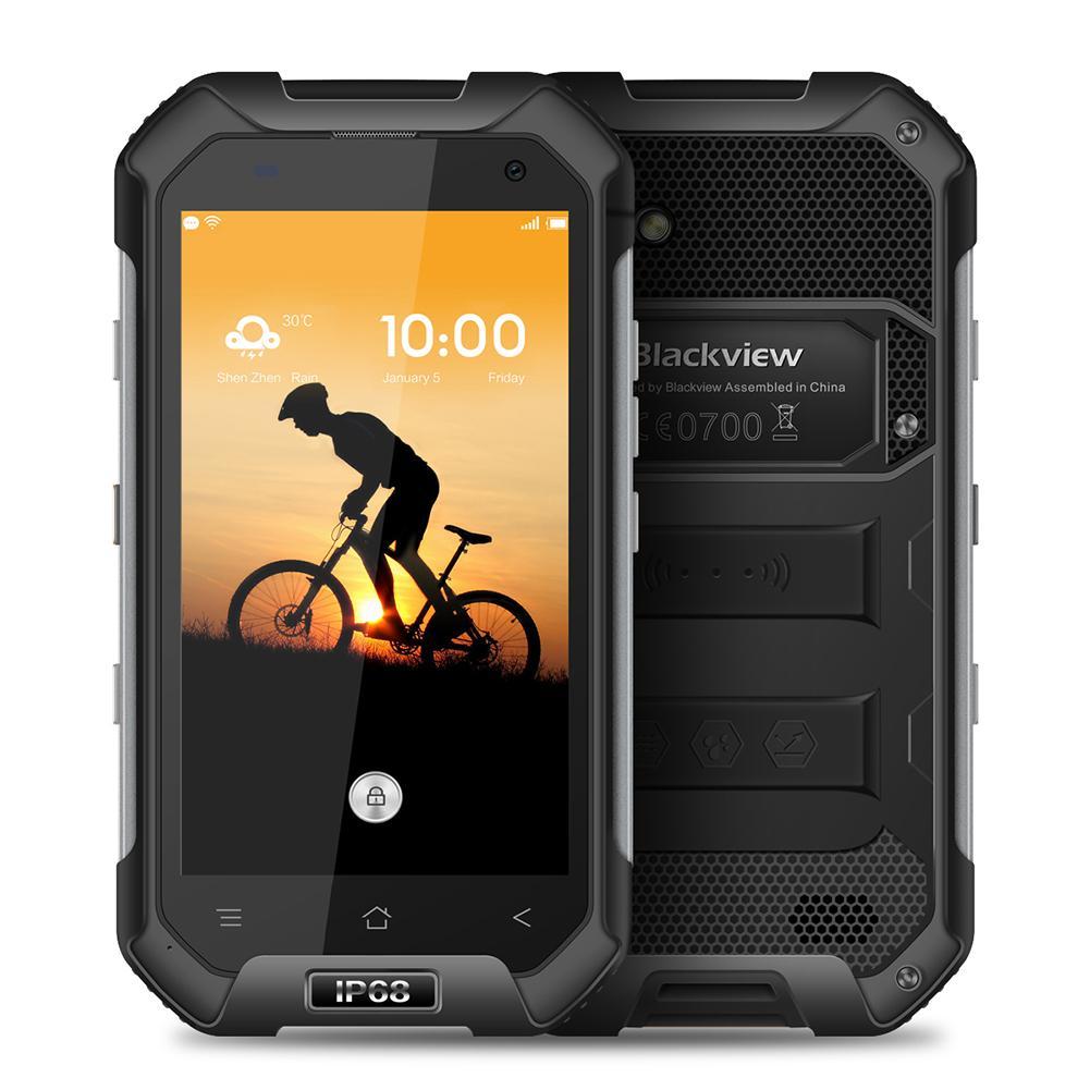 Смартфон Blackview BV6000s 2/16GB black ubox i828 android mini pc quad core amlogic s802 2g ram 8g rom hdmi in 2 4g 5g mimo wifi bluetooth miracast black