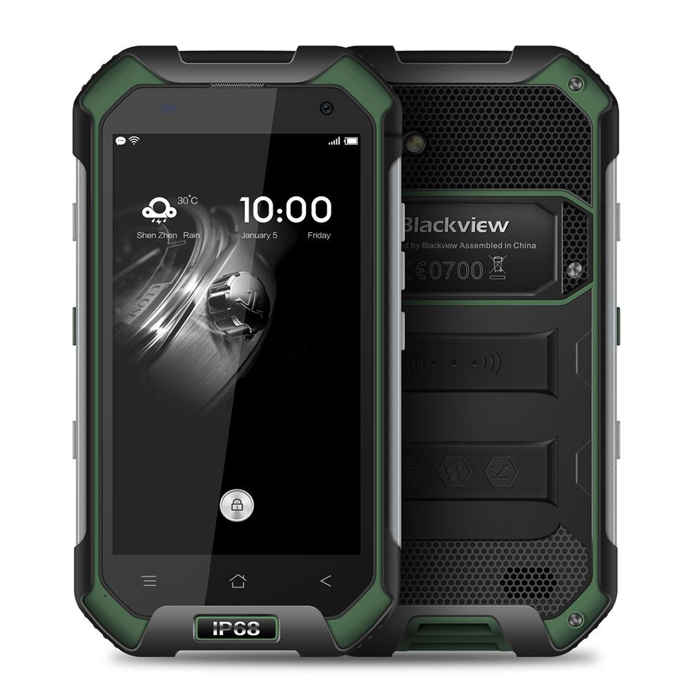Смартфон Blackview BV6000s 2/16GB green ubox i828 android mini pc quad core amlogic s802 2g ram 8g rom hdmi in 2 4g 5g mimo wifi bluetooth miracast black