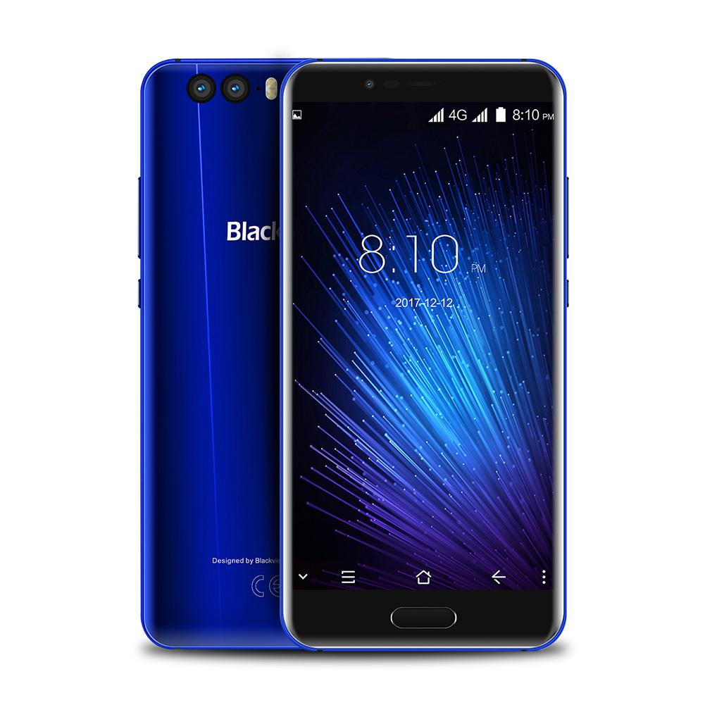 Смартфон Blackview P6000 6/64GB blue ubox i828 android mini pc quad core amlogic s802 2g ram 8g rom hdmi in 2 4g 5g mimo wifi bluetooth miracast black