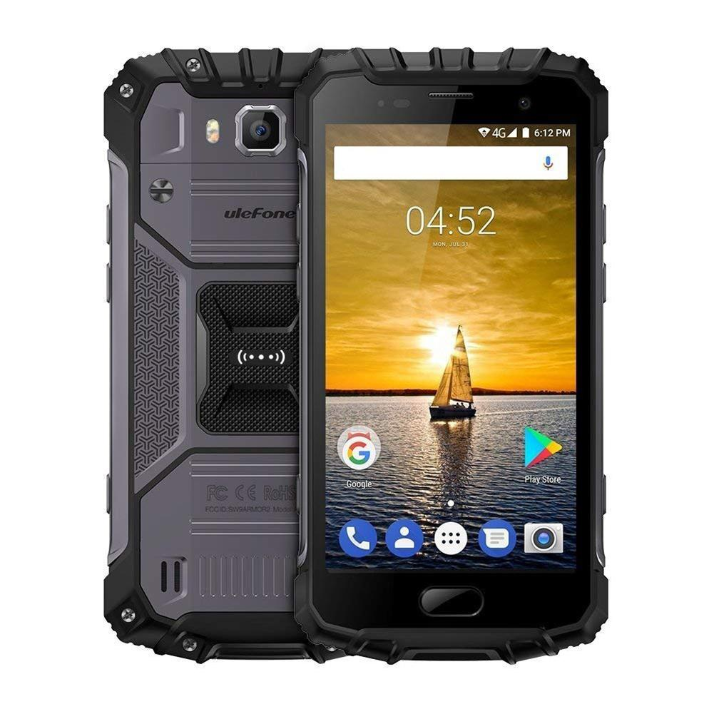 Смартфон Ulefone Armor 2 6/64GB black ubox i828 android mini pc quad core amlogic s802 2g ram 8g rom hdmi in 2 4g 5g mimo wifi bluetooth miracast black