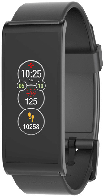 Умные часы MyKronoz Фитнес-трекер ZeFit4HR, 00-00000661, черный все цены