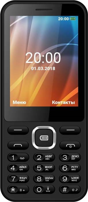 Мобильный телефон Vertex D525, черный цена