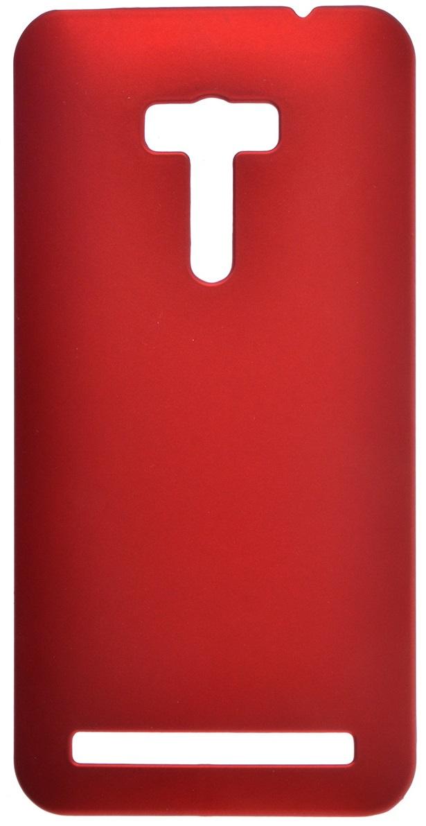 Чехол для сотового телефона skinBOX 4People, красный чехол для asus zenfone 2 laser ze550kl skinbox shield 4people белый