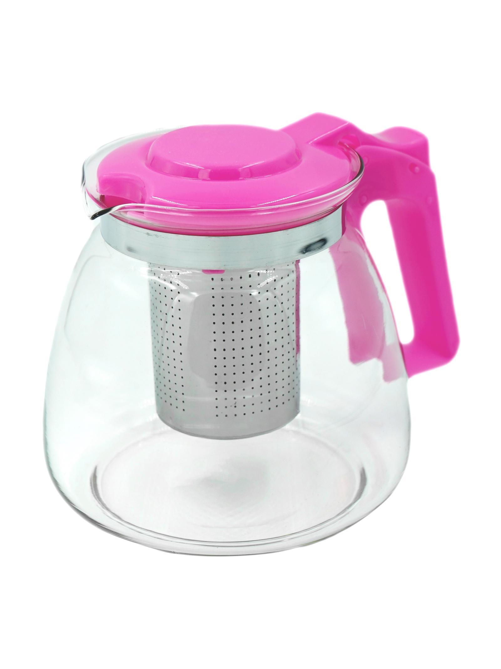 Фото - Чайник заварочный Коралл 967699 стеклянный чайник teo 1 25 л с ситечками для заваривания