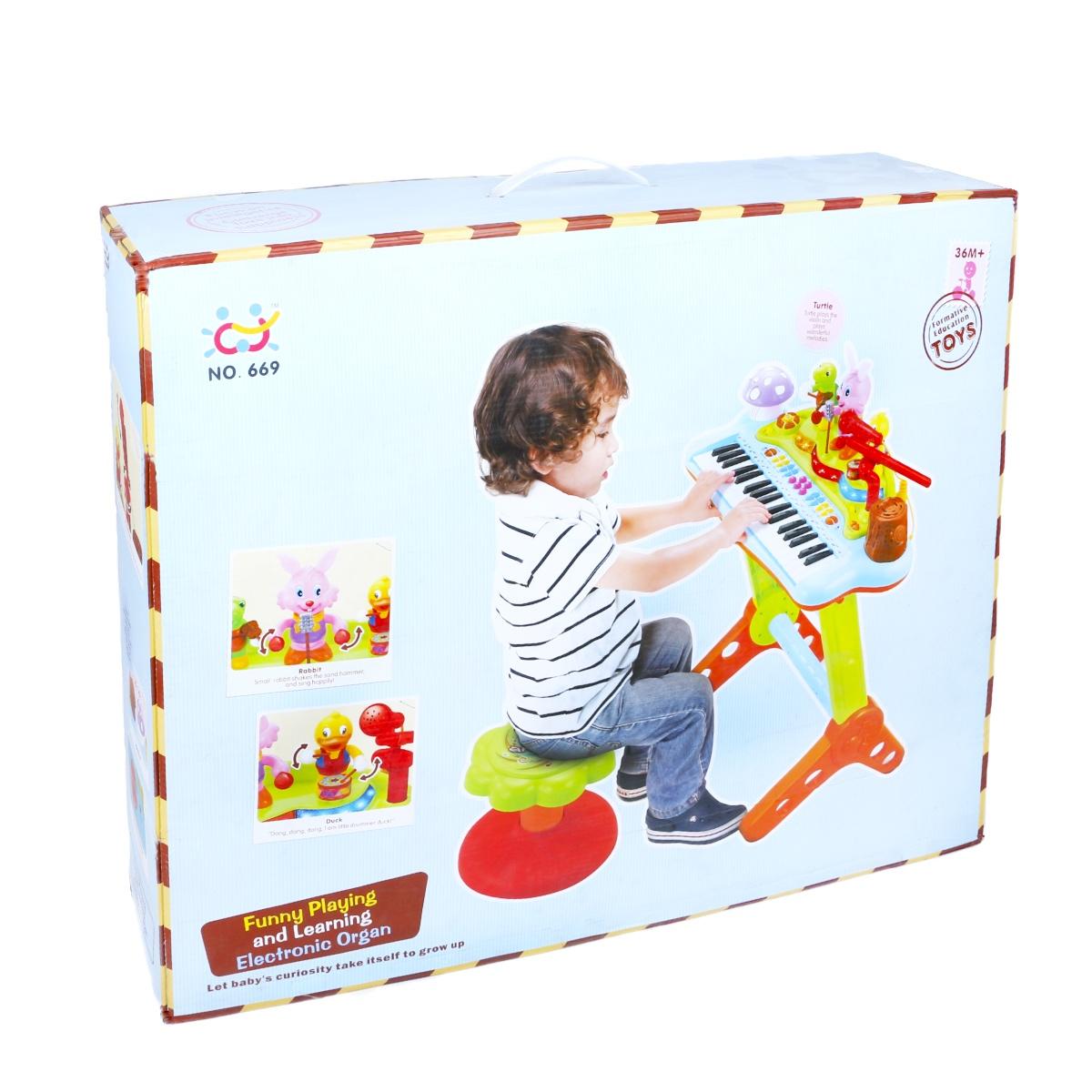 Детский музыкальный инструмент JT TOYS 669/ салатовый, красный музыкальный инструмент recorder